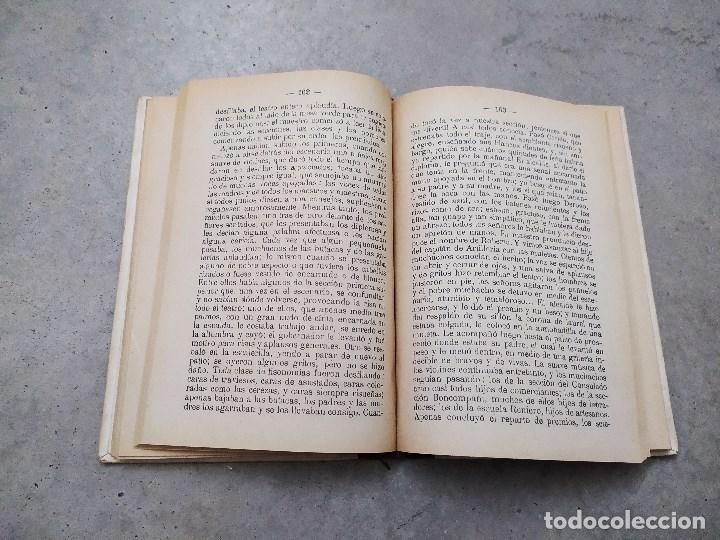 Libros antiguos: CORAZÓN. DIARIO DE UN NIÑO. EDMUNDO DE AMICIS. LIBRERÍA Y CASA EDITORIAL HERNANDO. - Foto 7 - 263103125