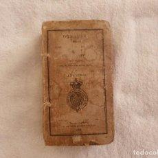 Livres anciens: LIBRO ANTIGUO 1826 LORD BYRON DON JUAN EN INGLÉS. Lote 263116220