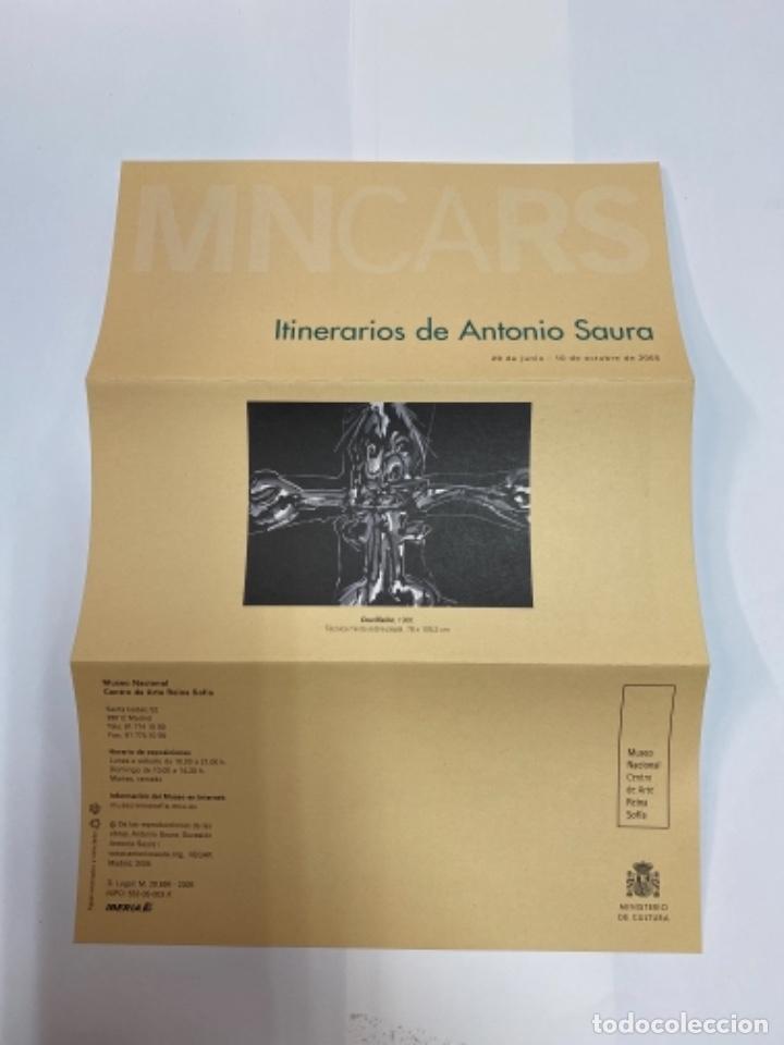 Libros antiguos: Cuatro series, Antonio Saura. Museo del grabado de Fuendetodos - Foto 2 - 263137230
