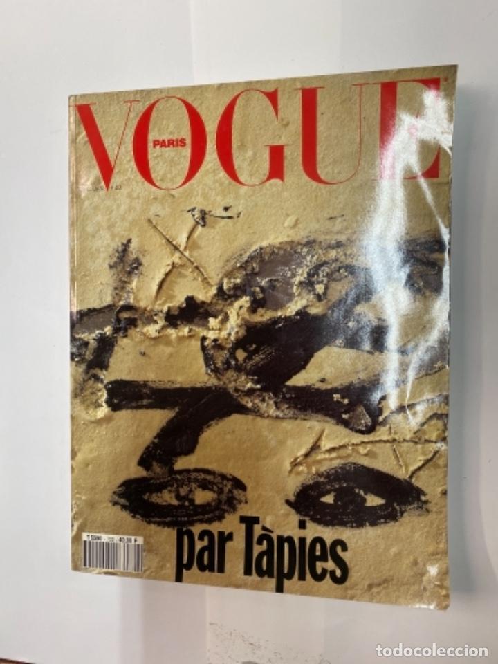 VOGUE PARIS PAR TAPIES (Libros Antiguos, Raros y Curiosos - Bellas artes, ocio y coleccionismo - Otros)
