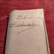 Libros antiguos: EL ESCANDALO, NOVELA POR D.PEDRO A. DE ALARCON 1930. Lote 263209825