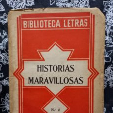 Libros antiguos: EDGARDO ALLAN POE - NARRACIONES EXTRAORDINARIAS - BIBLIOTECA LETRAS - MUY RARO- DÉCADA DE 1920. Lote 263218890