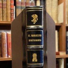 Libros antiguos: EL ROMANCERO HISTÓRICO. VIDAS DE ESPAÑOLES CÉLEBRES. ALFONSO GARCÍA TEJERO. Lote 263664730