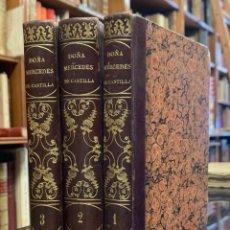 Libros antiguos: DOÑA MERCEDES DE CASTILLA, Ó EL VIAGE A CATAY. J. FENIMORE COOPER. Lote 263692970