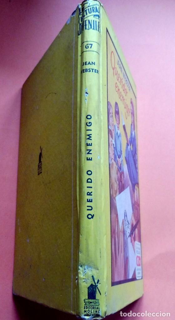 Libros antiguos: QUERIDO ENEMIGO - JEAN WEBSTER - LECTURAS JUVENILES nº 67 - ED. MOLINO - ARGENTINA - Foto 3 - 263789595