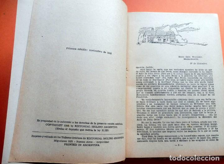 Libros antiguos: QUERIDO ENEMIGO - JEAN WEBSTER - LECTURAS JUVENILES nº 67 - ED. MOLINO - ARGENTINA - Foto 6 - 263789595