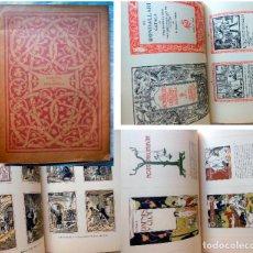 Livres anciens: ENSAYOS DE BIBLIOFILIA. 1929 R. MIQUEL Y PLANAS. Lote 263871865