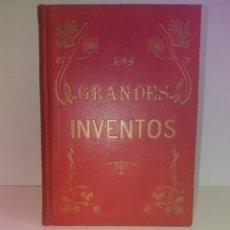 Libros antiguos: JUGUETES Y TRAVESURAS DESCUBRIMIENTOS AL ALCANCE DE LOS NIÑOS BELLO LIBRO MODERNISTA MAS DE 110 AÑOS. Lote 264067300