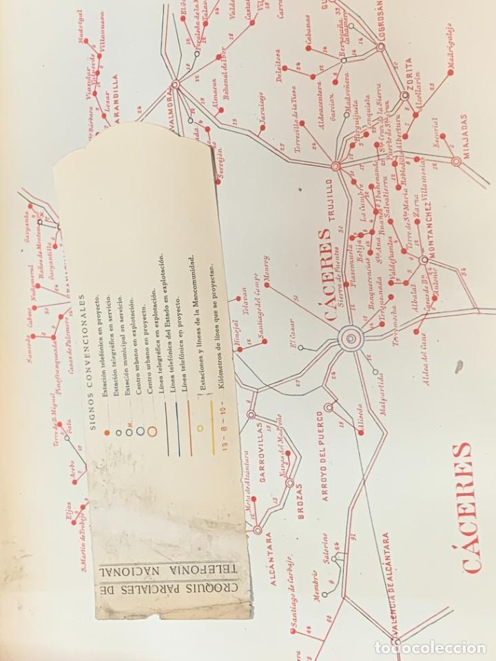 Libros antiguos: INICIO TELEFONIA LIBRO PROYECTO LEY AMPLIAR TELECOMUNICACIONES ESPAÑA 1921 ALFONSO XIII 26X39CMS - Foto 7 - 264160348