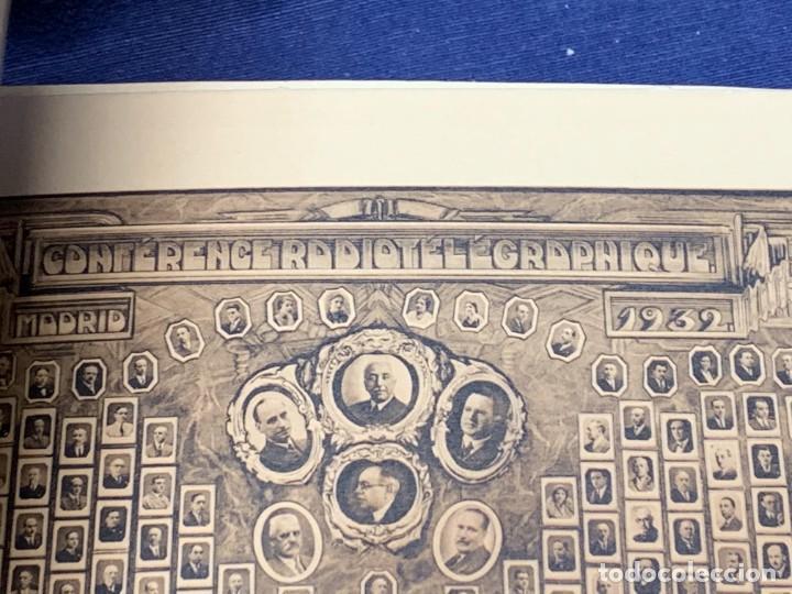 Libros antiguos: LIBRO CONFERENCES TELEGRAPHIQUE ET RADIOTELEGRAPHIQUE INTERNATIONALES MADRID RADIO 1932 24X32CMS - Foto 5 - 264161280