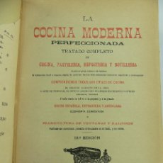 Libri antichi: LA COCINA MODERNA PERFECCIONADA. Lote 264428444