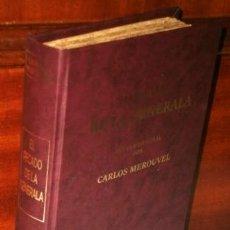Libros antiguos: EL PECADO DE LA GENERALA POR CHARLES MÉROUVEL DE BIBLIOTECA EL COSMOS EDITORIAL EN MADRID 1891. Lote 264521299