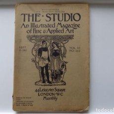 Libros antiguos: LIBRERIA GHOTICA. THE STUDIO.MAGAZINE OF FINE & APPLIED ART. LONDRES 1911. FOLIO. MUY ILUSTRADO.. Lote 264565144