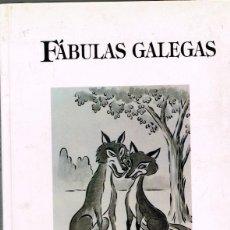 Libros antiguos: FÁBULAS GALEGAS XOSÉ Mº GARCÍA RODRÍGUEZ 1991. Lote 264681984
