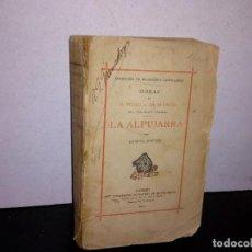 Libros antiguos: 22- OBRAS DE PEDRO A. DE ALARCÓN LA ALPUJARRA - 1903. Lote 264729789