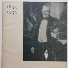 Libros antiguos: 1833-1933. CENTENARI DE LA RENAIXENÇA CATALANA. Lote 264755814