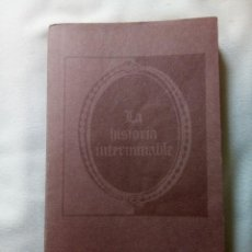 Libri antichi: LA HISTORIA INTERMINABLE DE MICHAEL ENDE. Lote 264793324