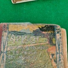 Libros antiguos: APLEC. MODELS EN VERS I EN PROSA. SARDANA. 1916. DALMAU CARLES PLA & C. Lote 265117939