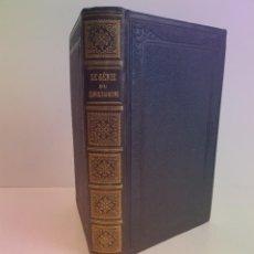 Libros antiguos: ATRACTIVO EL GENIO DEL CRISTIANISMO DE CHATEAUBRIAND LIBRO MITICO MAS DE 160 AÑOS. Lote 265349789