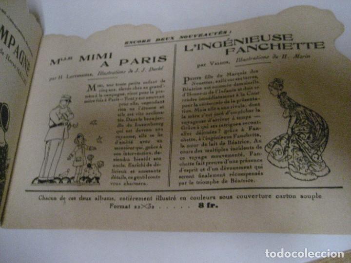 Libros antiguos: bonito catalogo troquelado editions gautier año 1932 en francés libreria berge barcelona - Foto 4 - 265376904