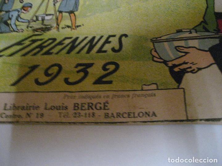 Libros antiguos: bonito catalogo troquelado editions gautier año 1932 en francés libreria berge barcelona - Foto 6 - 265376904