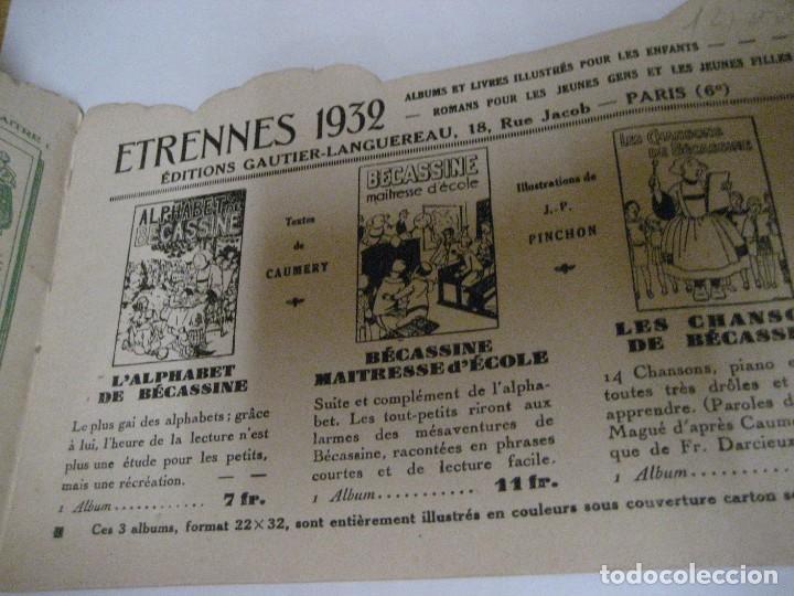Libros antiguos: bonito catalogo troquelado editions gautier año 1932 en francés libreria berge barcelona - Foto 7 - 265376904