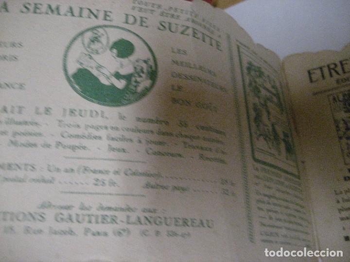 Libros antiguos: bonito catalogo troquelado editions gautier año 1932 en francés libreria berge barcelona - Foto 8 - 265376904
