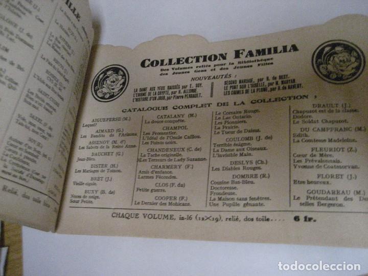 Libros antiguos: bonito catalogo troquelado editions gautier año 1932 en francés libreria berge barcelona - Foto 9 - 265376904