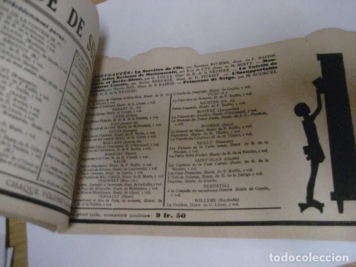 Libros antiguos: bonito catalogo troquelado editions gautier año 1932 en francés libreria berge barcelona - Foto 10 - 265376904