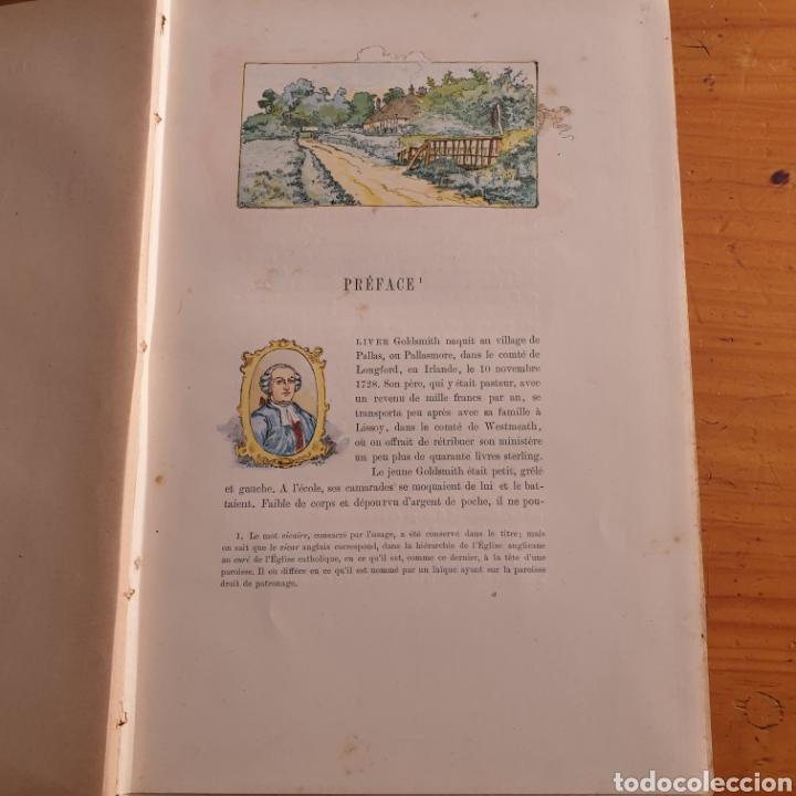 Libros antiguos: ANTIGUO LIBRO, GOLDSMITH LE VICAIRE DE WAKEFIELD - Foto 2 - 265459124