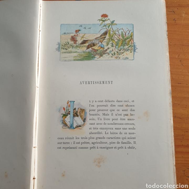 Libros antiguos: ANTIGUO LIBRO, GOLDSMITH LE VICAIRE DE WAKEFIELD - Foto 3 - 265459124