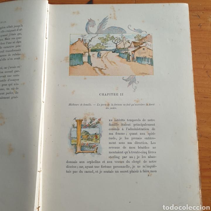 Libros antiguos: ANTIGUO LIBRO, GOLDSMITH LE VICAIRE DE WAKEFIELD - Foto 4 - 265459124