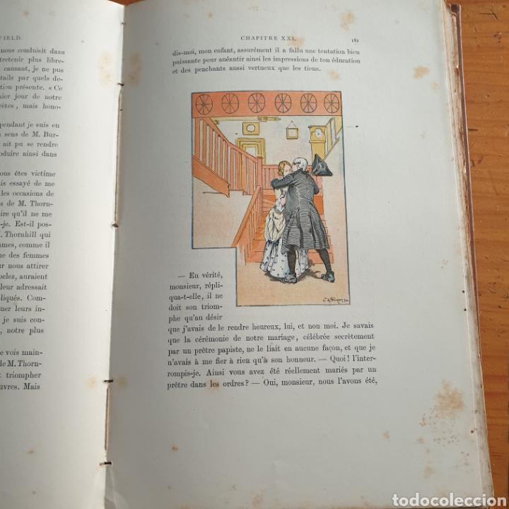 Libros antiguos: ANTIGUO LIBRO, GOLDSMITH LE VICAIRE DE WAKEFIELD - Foto 6 - 265459124