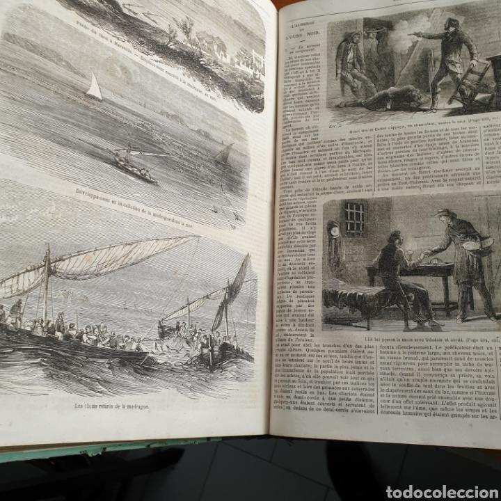 Libros antiguos: ANTIGUO LIBRO 1865, PERIÓDICO PARA TODOS JOURNAL POUR TOUS - Foto 6 - 265463304