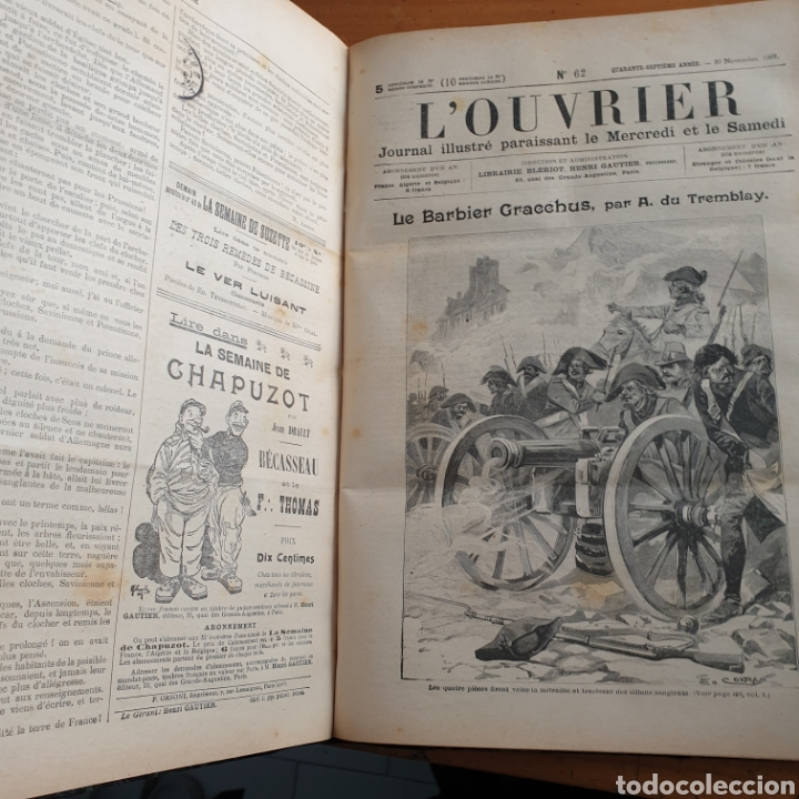 Libros antiguos: ANTIGUO LIBRO 1907, PERIÓDICO LOUVRIER - Foto 4 - 265464784