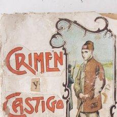 Libros antiguos: TOMO II CRIMEN Y CASTIGO. DOSTOYEWSKI. 1903. Lote 265707599