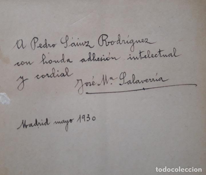Libros antiguos: Nuevos retratos, J. Maria Salaverria, Renacimiento 1930 , ver dedicatoria - Foto 2 - 265781134