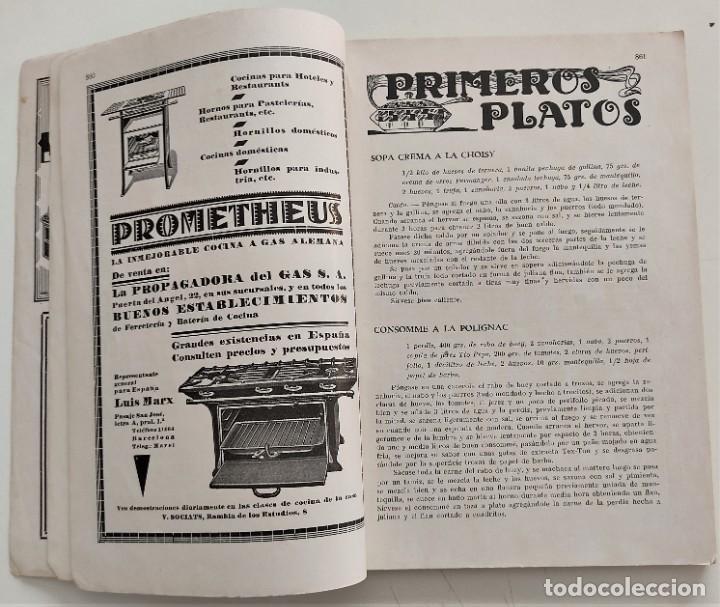 Libros antiguos: DOS REVISTAS MENAGE DE JULIO Y OCTUBRE DE 1934 - BUEN ESTADO - Foto 3 - 266096788