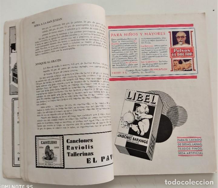 Libros antiguos: DOS REVISTAS MENAGE DE JULIO Y OCTUBRE DE 1934 - BUEN ESTADO - Foto 4 - 266096788