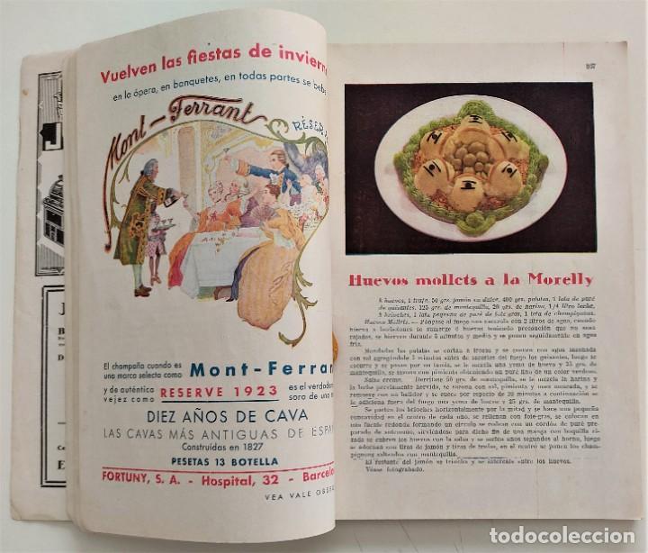 Libros antiguos: DOS REVISTAS MENAGE DE JULIO Y OCTUBRE DE 1934 - BUEN ESTADO - Foto 5 - 266096788