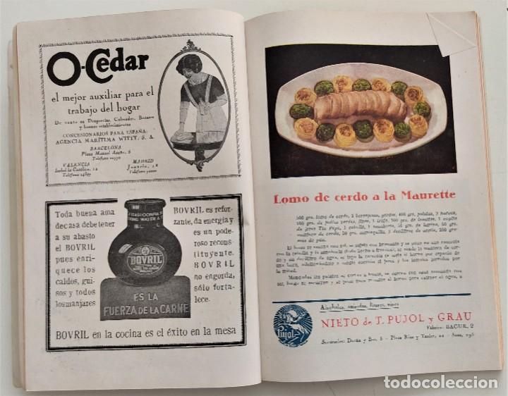 Libros antiguos: DOS REVISTAS MENAGE DE JULIO Y OCTUBRE DE 1934 - BUEN ESTADO - Foto 7 - 266096788