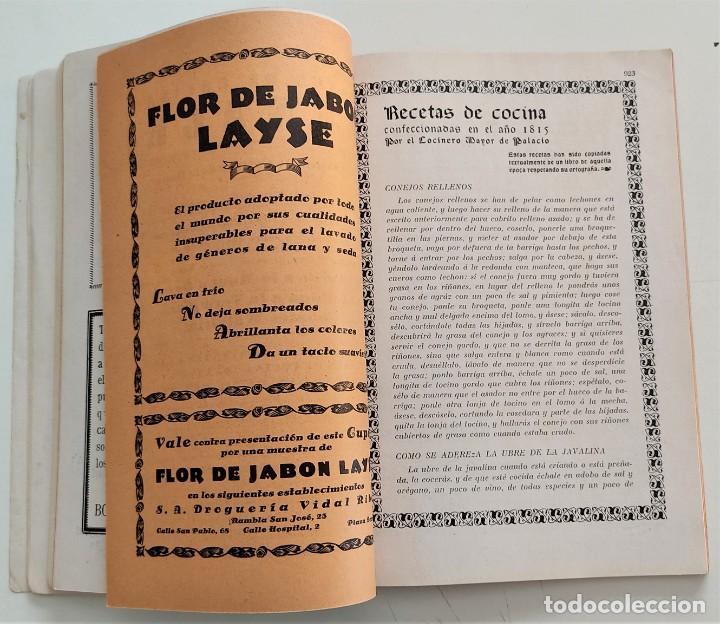 Libros antiguos: DOS REVISTAS MENAGE DE JULIO Y OCTUBRE DE 1934 - BUEN ESTADO - Foto 8 - 266096788