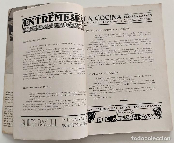 Libros antiguos: DOS REVISTAS MENAGE DE JULIO Y OCTUBRE DE 1934 - BUEN ESTADO - Foto 10 - 266096788