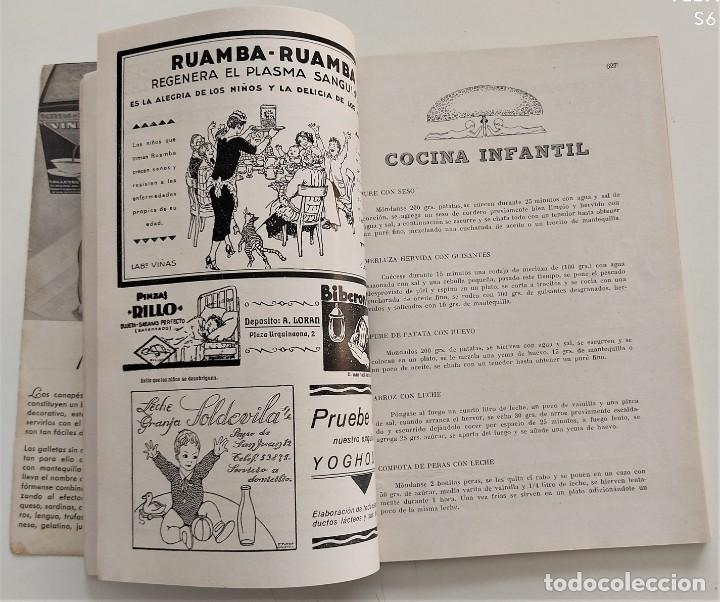 Libros antiguos: DOS REVISTAS MENAGE DE JULIO Y OCTUBRE DE 1934 - BUEN ESTADO - Foto 13 - 266096788