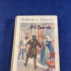 Libros antiguos: EL CASTILLO DE GAVONE. Lote 266713903