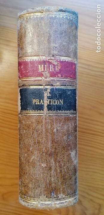 """Libros antiguos: LIBRO DE COCINA """"EL PRACTICÓN"""". ANGEL MURO. PRIMERA EDICIÓN. 1894 - Foto 4 - 266750143"""
