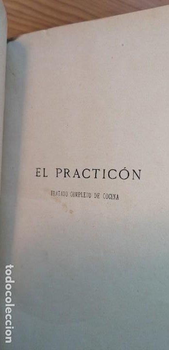 """Libros antiguos: LIBRO DE COCINA """"EL PRACTICÓN"""". ANGEL MURO. PRIMERA EDICIÓN. 1894 - Foto 16 - 266750143"""