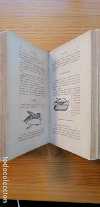 """Libros antiguos: LIBRO DE COCINA """"EL PRACTICÓN"""". ANGEL MURO. PRIMERA EDICIÓN. 1894 - Foto 22 - 266750143"""