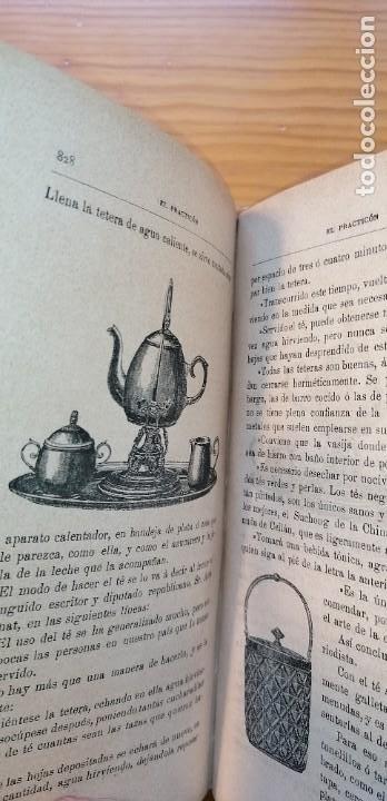 """Libros antiguos: LIBRO DE COCINA """"EL PRACTICÓN"""". ANGEL MURO. PRIMERA EDICIÓN. 1894 - Foto 24 - 266750143"""