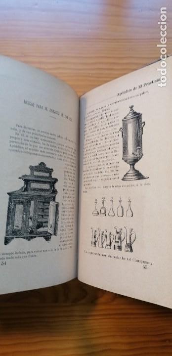 """Libros antiguos: LIBRO DE COCINA """"EL PRACTICÓN"""". ANGEL MURO. PRIMERA EDICIÓN. 1894 - Foto 25 - 266750143"""